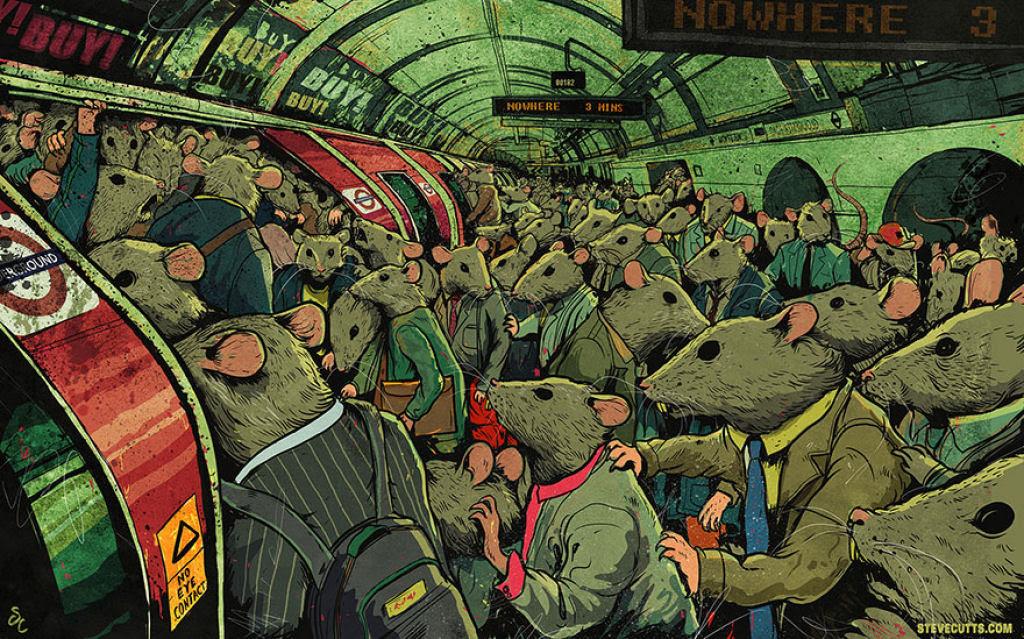 Estas ilustrações proporcionam, uma nova perspectiva do mundo moderno 05