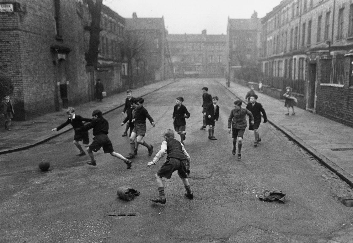 football-in-street