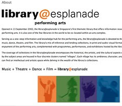 library@esplanade » About