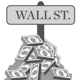 Image result for wall street clip art