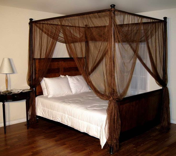 4 poster bed curtains roole - Four poster bed curtains ...