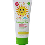 BabyGanics Sunscreen Mineral Based Broad Spectrum 50 SPF 6 fl oz