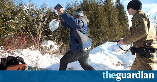 Asylum-seekers flee US border patrol for Canada: 'Nobody cares about us' | US news | The Guardian