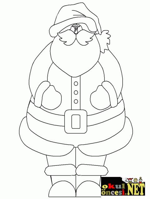 Noel Baba Boyama Sayfaları Komik Fipixde
