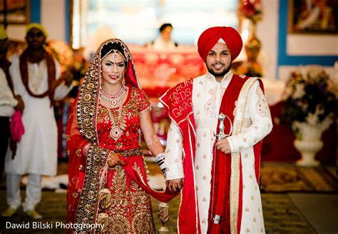 Ceremony in Sacramento, CA Sikh Wedding by Dawid Bilski