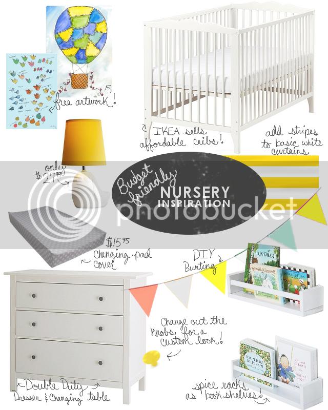 Budget Friendly Nursery Inspiration