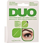 Duo Striplash Adhesive, Brush On, White/Clear - 0.18 oz