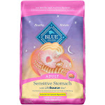 Blue Buffalo Adult Sensitive Stomach Chicken & Brown Rice Dry Cat Food - 10lb