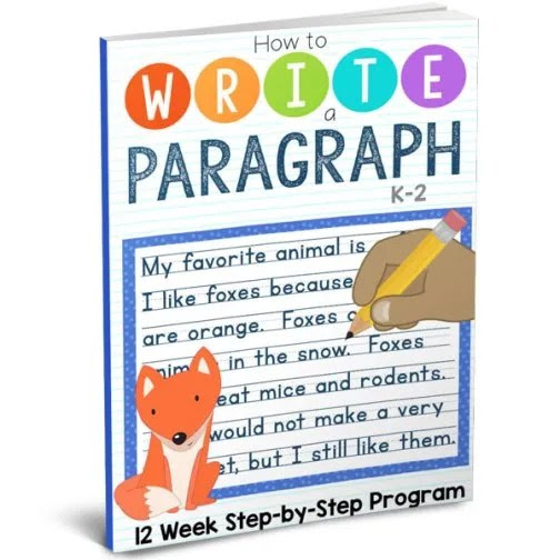 Paragraph Writing Program From The Crafty Classroom ~ a Crew review