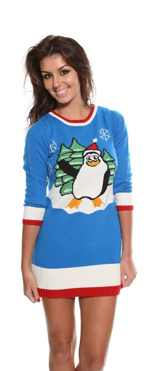 ladies cheesy christmas jumpers