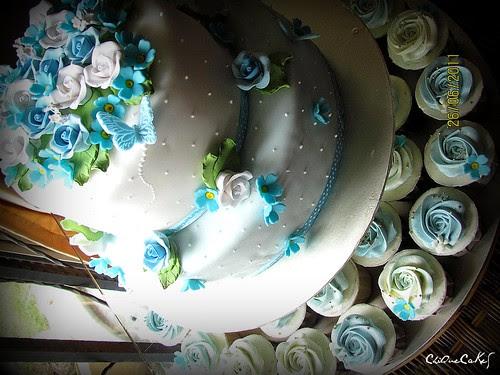 ida-blue wedding theme