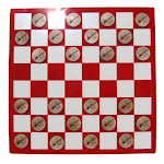 CAMIC designs BGR001CKS Laser-Etched Bass Guitar vs. Electric Guitar Checkers Set