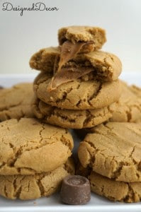 Peanut Butter Rolo Cookes 035