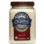 Rice Select Organic Texmati White Rice, 32 oz Jar
