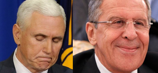 Lavrov Tells It Right to Pence's Smug Face: Russia Will End US-Led World Order