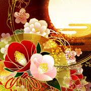 桜や和柄の幻想的な和風壁紙なら和風幻想壁紙