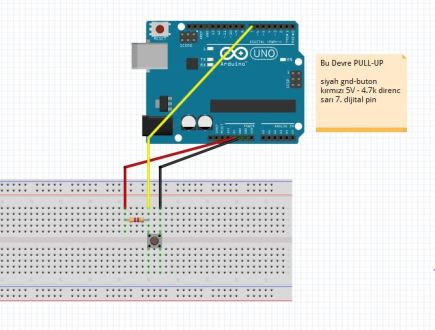 Arduino Pull-up/down
