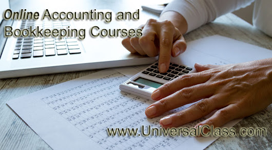 Accounting and Bookkeeping Online Courses
