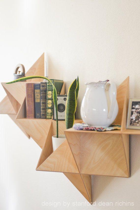 Danish Modern Inspired Modular Triangular by Designbystanford #bookshelf