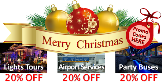 Christmas Specials - Holiday Lights Tours - aspen limousine service