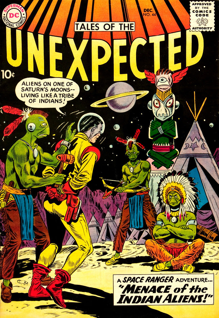 Tales of the Unexpected #44 (DC, 1959) Dick Dillin, Sheldon Moldof cover