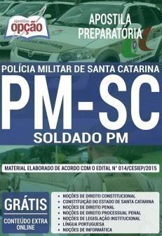 Apostila PMSC soldado da PMSC.
