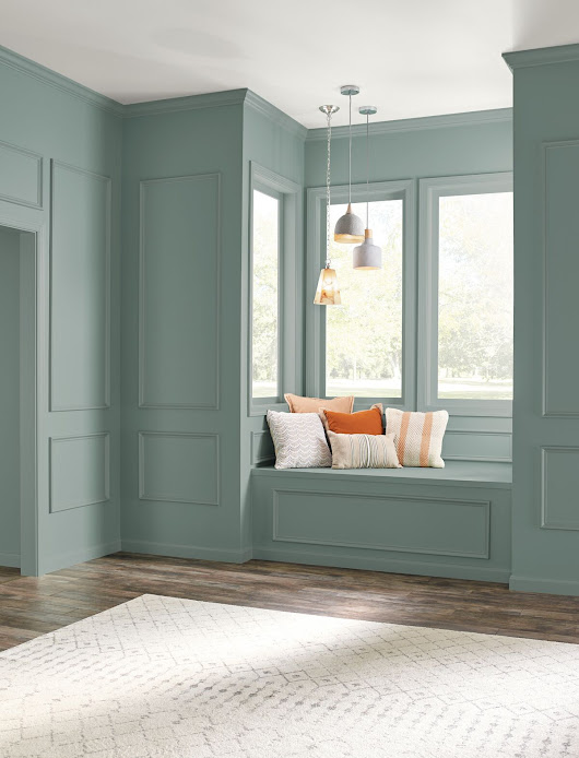 Behr just announced their 2018 Color of the Year…