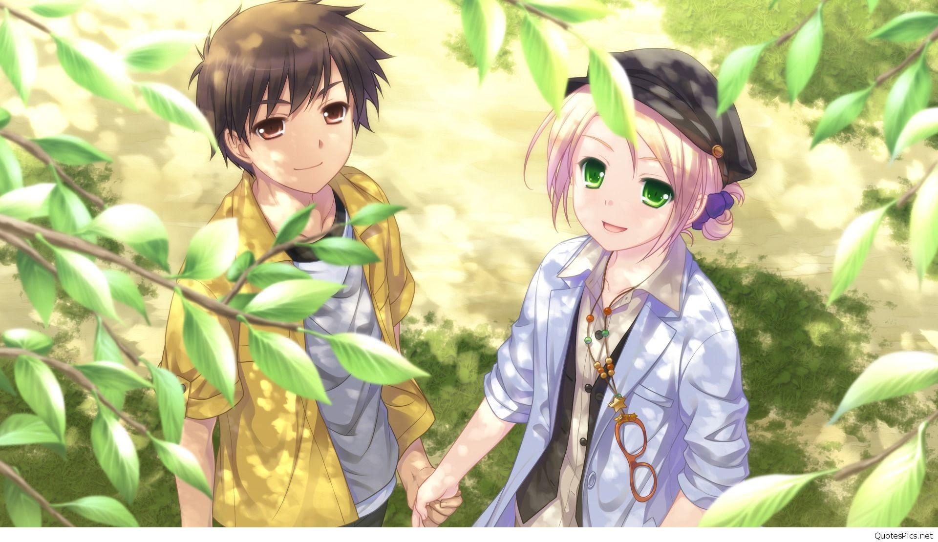 43 Gambar Keren Anime Couple HD