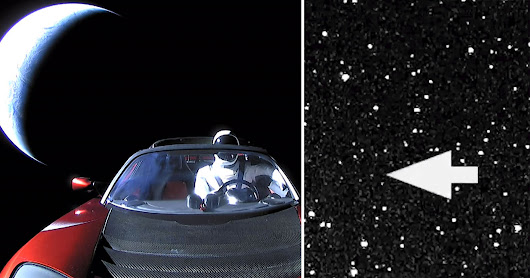 How I Shot the Tesla Roadster in Space from 1 Million Miles Away