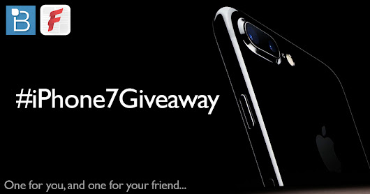iPhone 7 giveaway with Technobuffalo