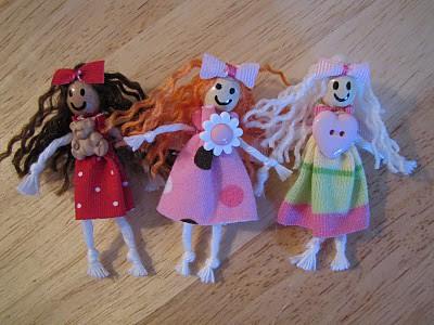 doll hair bow