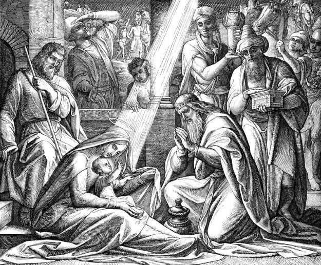 Znalezione obrazy dla zapytania Trzej królowie