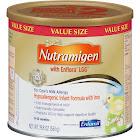 Nutramigen Infant Formula, with Iron, Hypoallergenic, Powder, 1 (0-12 Months), Value Size - 19.8 oz
