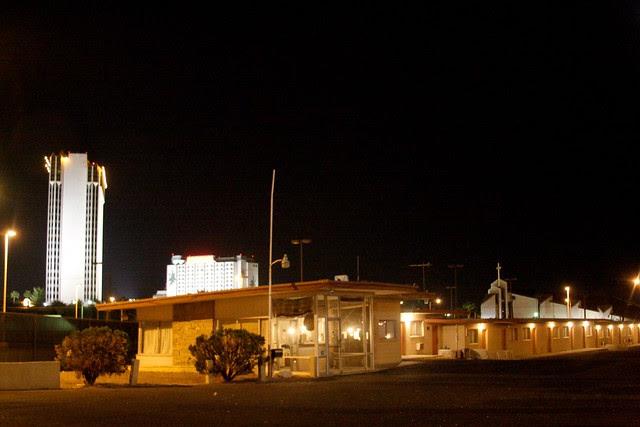 defunct motel, las vegas strip