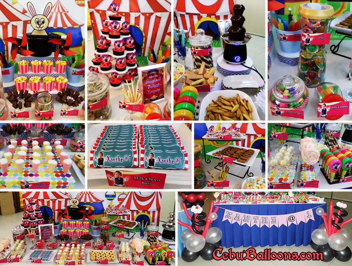 Dessert Buffet Decors Cake Pastries Candies Cebu Balloons