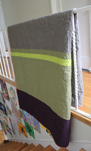 Molly's quilt, back
