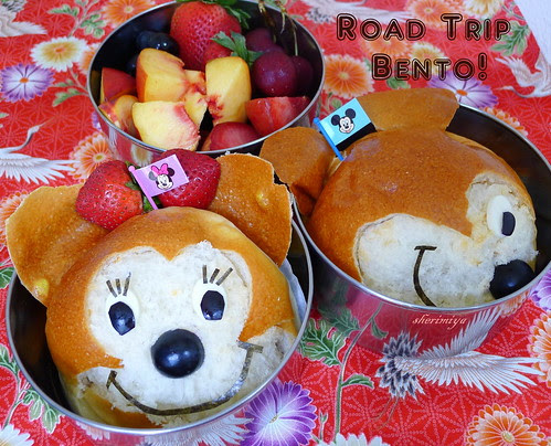 Roadtrip Bento 2 by sherimiya ♥