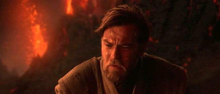 Obi-Wan to his fallen apprentice: 'You were the Chosen One!'