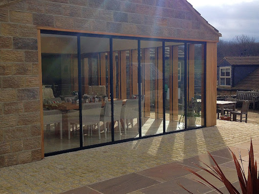 Folding Doors, Frameless Folding Doors, Slide and Fold System, Glass Wall