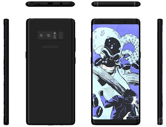 New Galaxy Note 8 Renders Provide Detailed Look | Droid Life