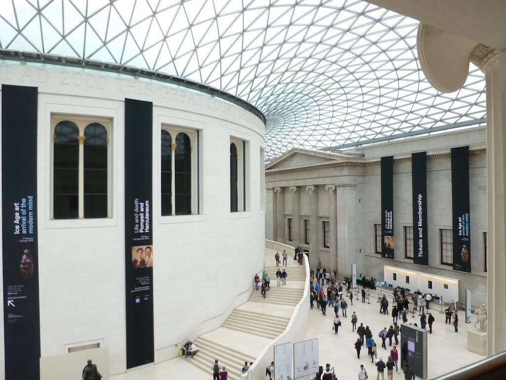 132/365 - British Museum courtyard