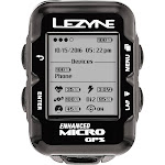 Lezyne Micro GPS Loaded Cycling Computer with Heart Rate