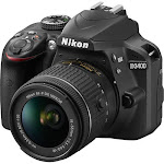 Nikon D3400 24.2 MP Digital SLR Camera - Black - AF-P DX 18-55mm VR Lens