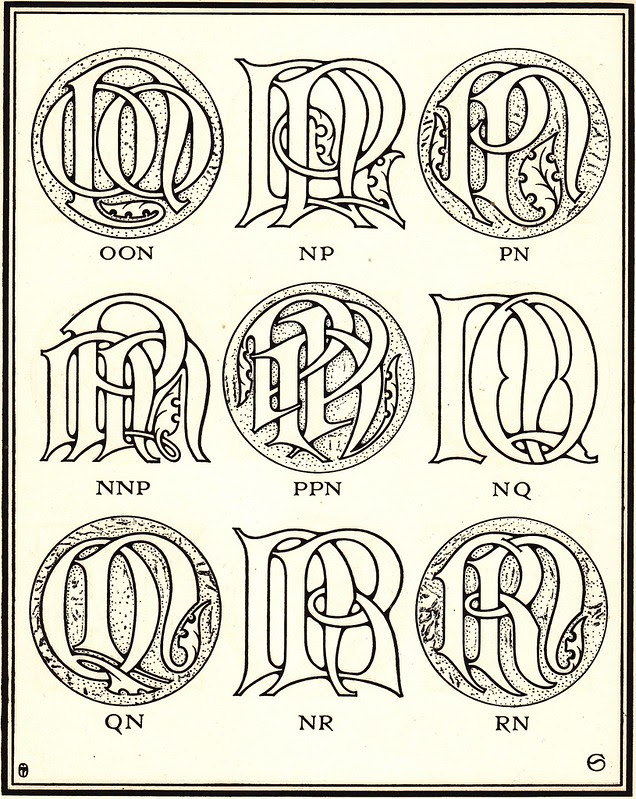 Monograms & Ciphers by AA Turbayne 1912 i