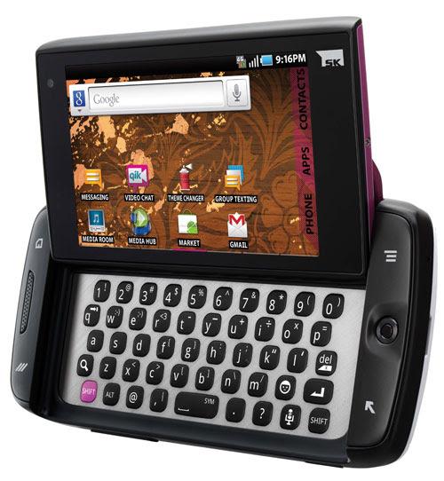 new sidekick 2011 touch screen. Samsung Sidekick 4G
