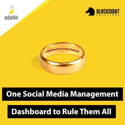 One Social Media Dashboard To Rule Them All