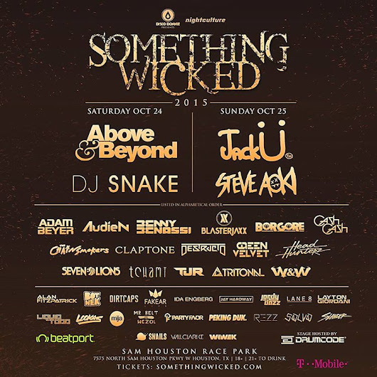 Giveaway: Tickets to Houston's Something Wicked 2015