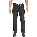 Alta Denim F-16 Designer Fashion Men's Straight Fit Jeans Black