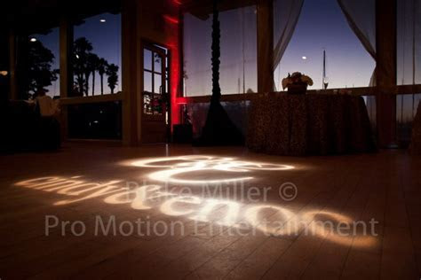 Monogram Projection   Gobo Projection   Dancefloor Gobo