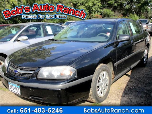 Used 2003 Chevrolet Impala Base for Sale in Lino Lakes MN 55014 Bobs Auto Ranch